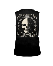 He Whispered Back I am the Storm - Skull Sleeveless Tee thumbnail