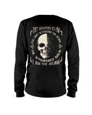 He Whispered Back I am the Storm - Skull Long Sleeve Tee thumbnail
