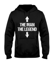 The Man The Legend Hooded Sweatshirt front