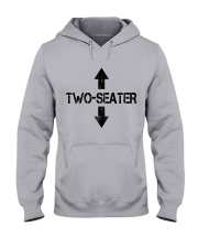 Two Seater Hooded Sweatshirt front