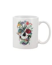 Flower skull Mug thumbnail