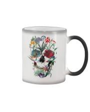 Flower skull Color Changing Mug thumbnail