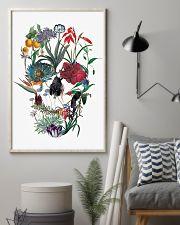 Flower skull 24x36 Poster lifestyle-poster-1