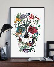 Flower skull 24x36 Poster lifestyle-poster-2