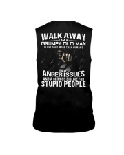 Walk Away I am a Grumpy Old Man I Love Dogs Sleeveless Tee thumbnail