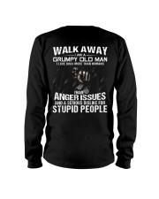 Walk Away I am a Grumpy Old Man I Love Dogs Long Sleeve Tee thumbnail