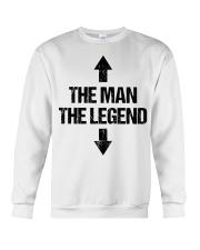 The Man The Legend Crewneck Sweatshirt thumbnail