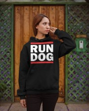 RUN DOG - Hoodie  Hooded Sweatshirt apparel-hooded-sweatshirt-lifestyle-02