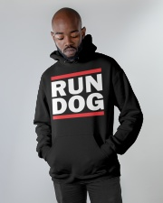 RUN DOG - Hoodie  Hooded Sweatshirt apparel-hooded-sweatshirt-lifestyle-front-09