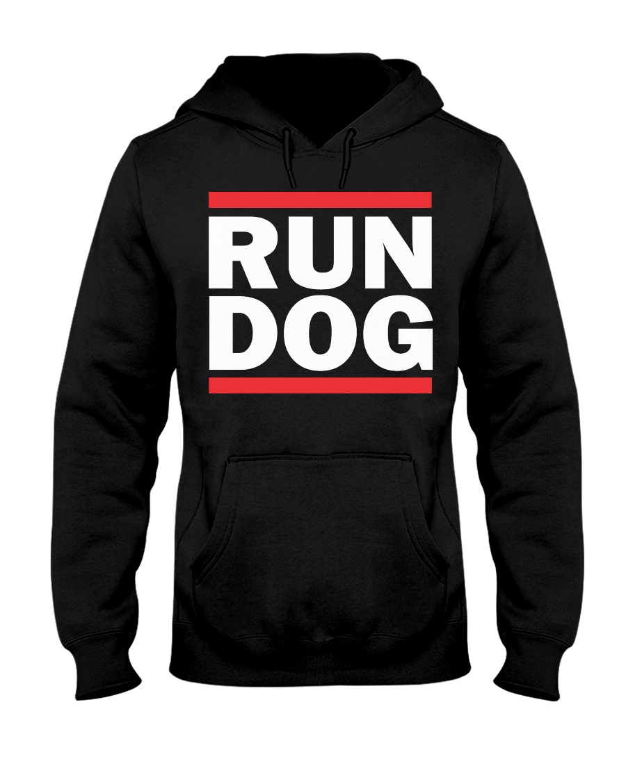 RUN DOG - Hoodie  Hooded Sweatshirt