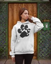 The Paw Hoodie  Hooded Sweatshirt apparel-hooded-sweatshirt-lifestyle-02
