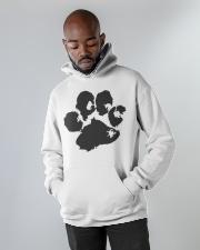 The Paw Hoodie  Hooded Sweatshirt apparel-hooded-sweatshirt-lifestyle-front-09