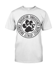 Dedication T-shirt Premium Fit Mens Tee front
