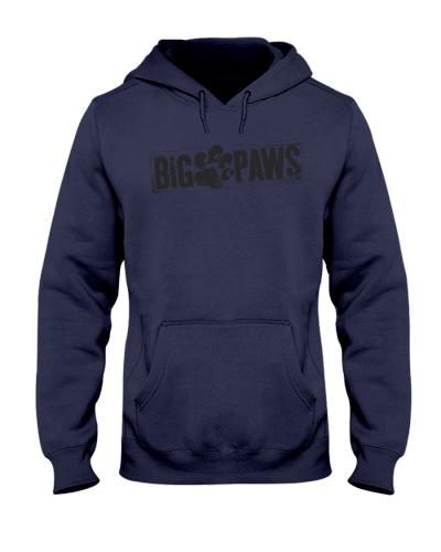 Big Paws Hoodie  - Black logo