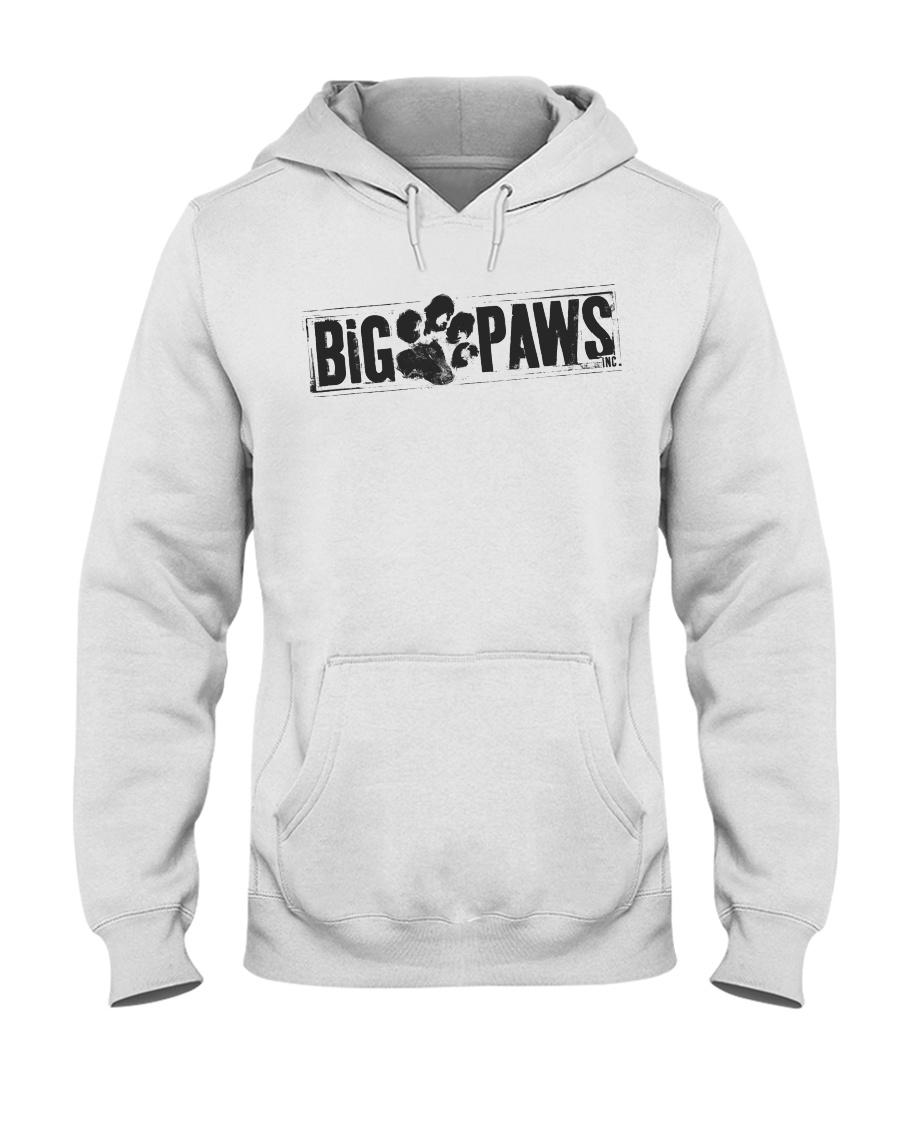Big Paws Hoodie  - Black logo  Hooded Sweatshirt