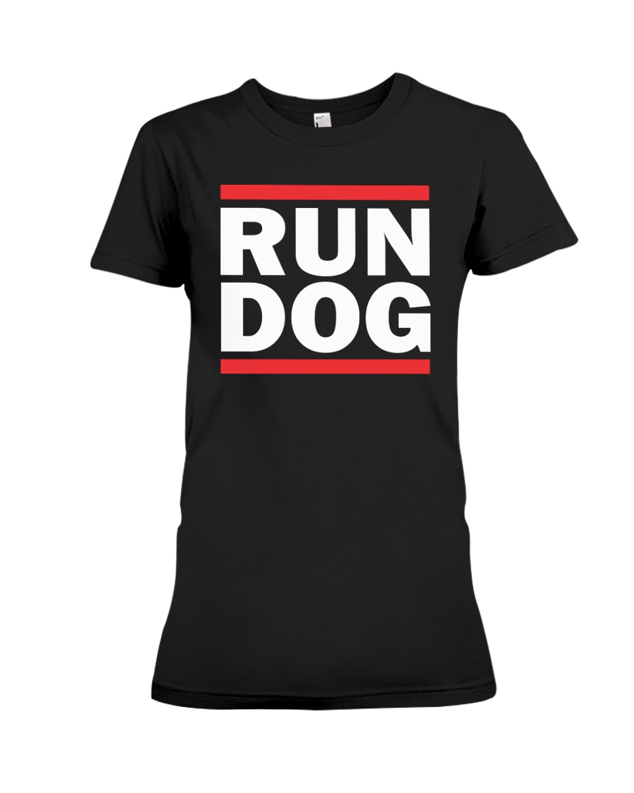 RUN DOG T-shirt - LADIES FIT  Premium Fit Ladies Tee