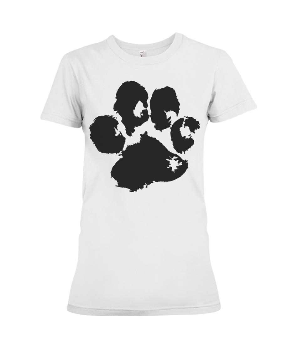 THE PAW T-shirt - LADIES FIT  Premium Fit Ladies Tee