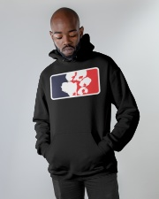 BPL - BIG PAWS LEAGUE - Hoodie  Hooded Sweatshirt apparel-hooded-sweatshirt-lifestyle-front-09