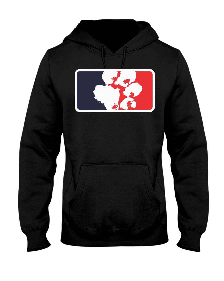 BPL - BIG PAWS LEAGUE - Hoodie  Hooded Sweatshirt