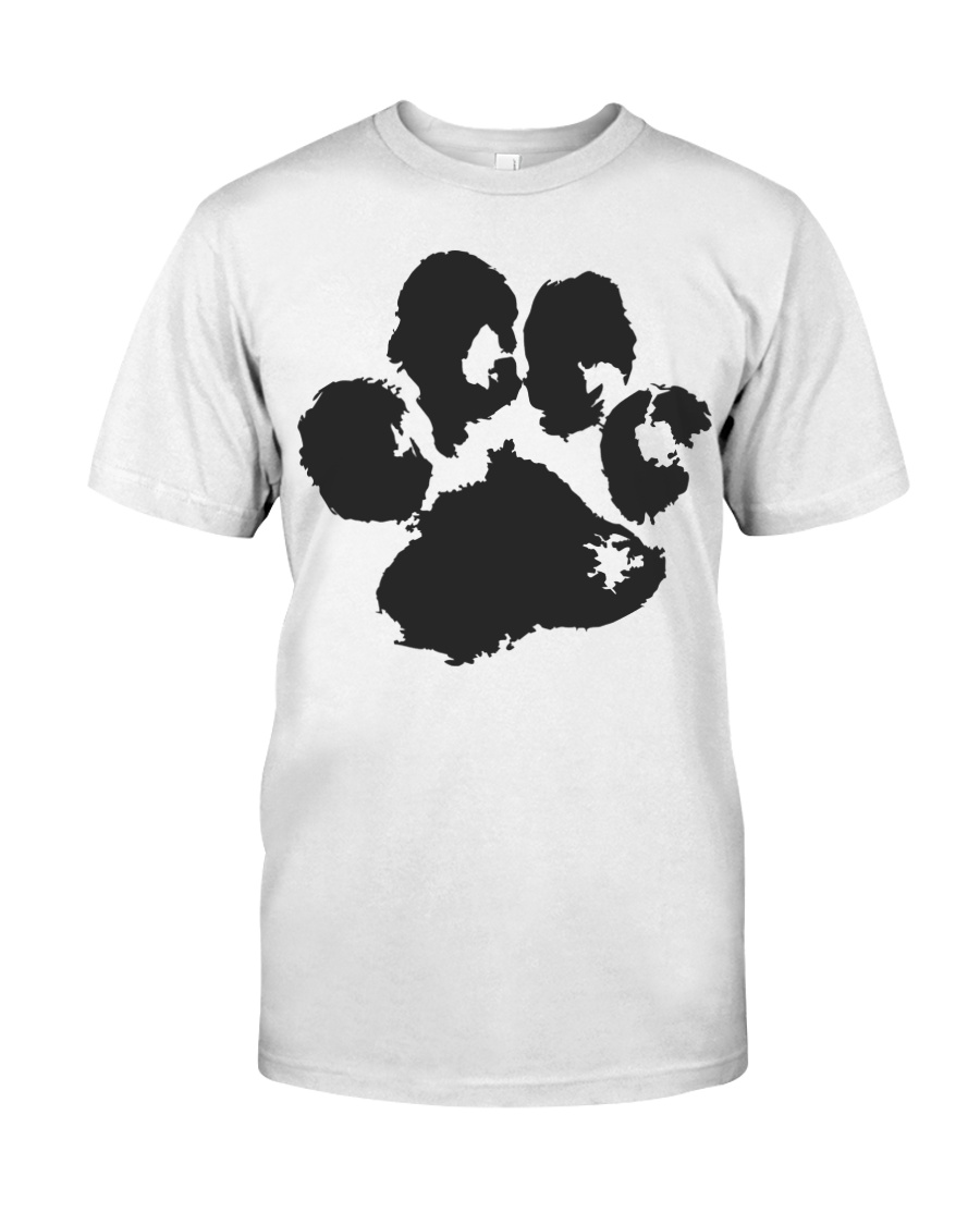 The Paw T-shirt Premium Fit Mens Tee