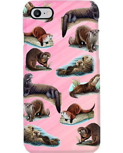 Otters phone case