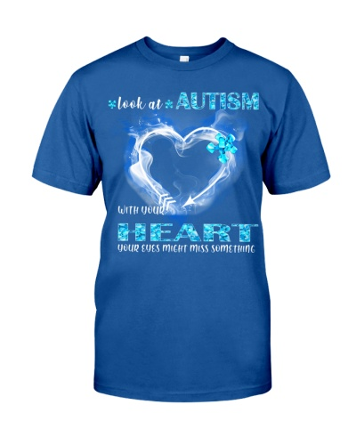 TTN Look At Autism With Your Heart Shirt