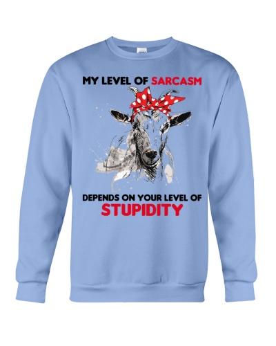 Goat my sarcasm