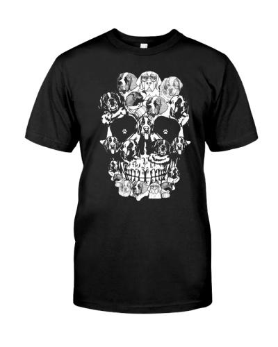 ST Bernard skull