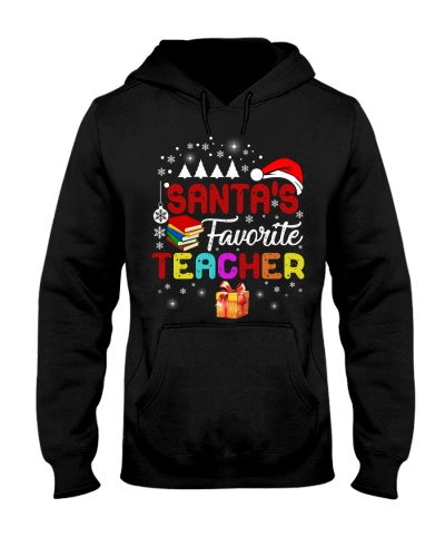 Santa is favorite teacher