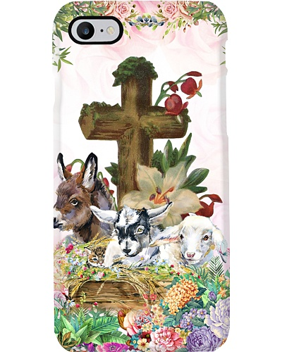 Goat cross phone case