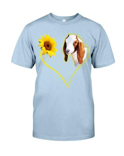 Goat sunshine heart