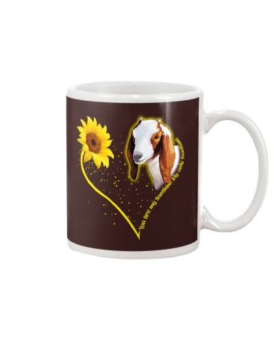 Goat sunshine heart