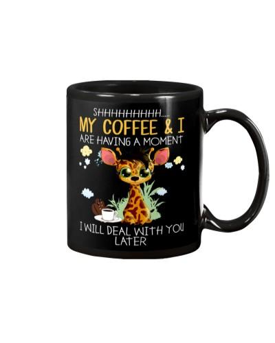 Giraffe Coffee And I