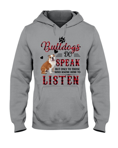 Bulldog do speak