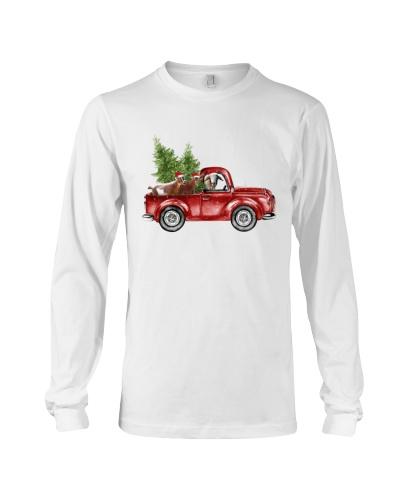 Goat christmas car