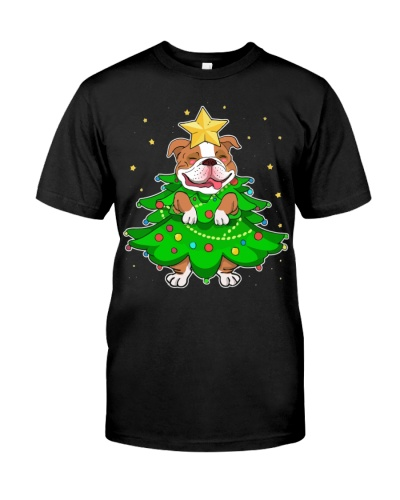 Bulldog Star Christmas Tree
