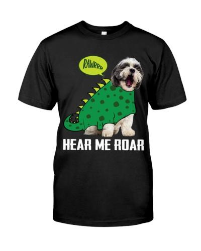 Shih tzu hear me roar