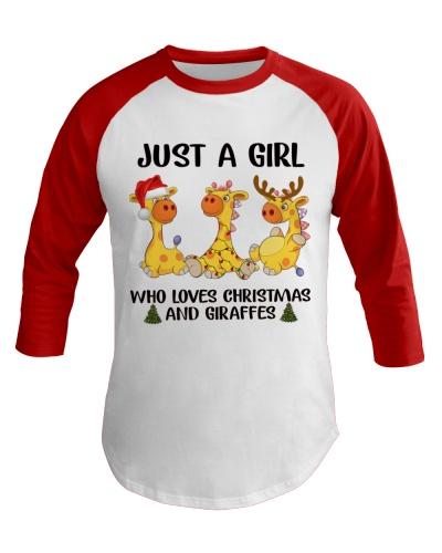 Giraffes Christmas