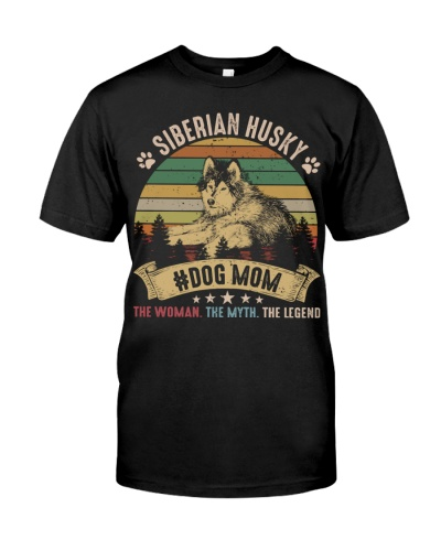 Siberian Husky Dog Mom