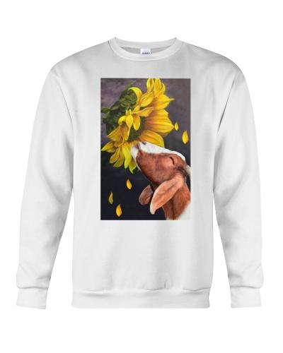 Goat sunflower poster