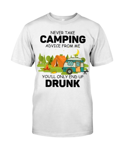 Camping drunk
