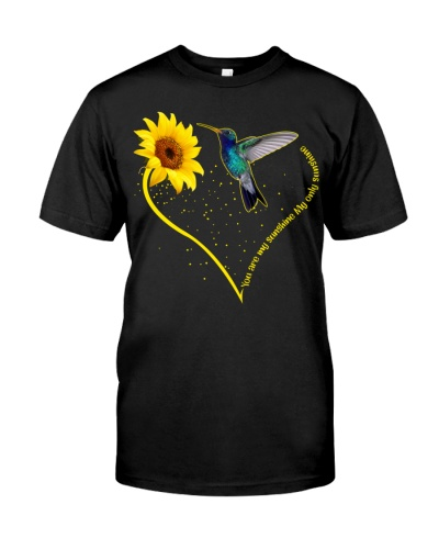 Hummingbird sunshine heart