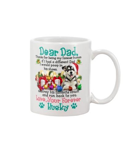 Siberian husky dear dad