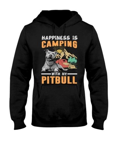 Pitbull Camping