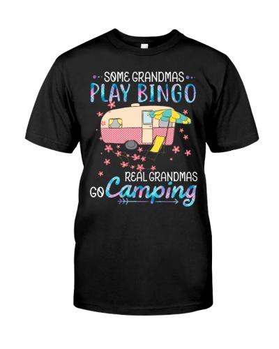 Camping play bingo