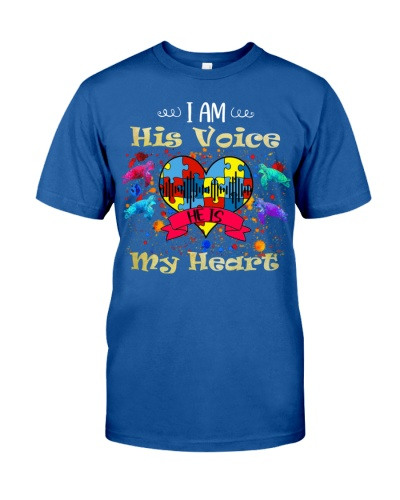 SHN I am his voice he is my heart Autism