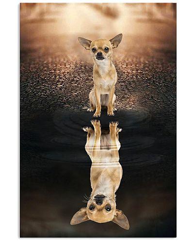 Chihuahua  shadow poster