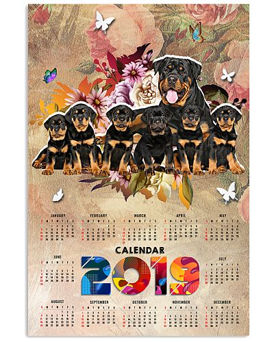 Rottie calendar poster