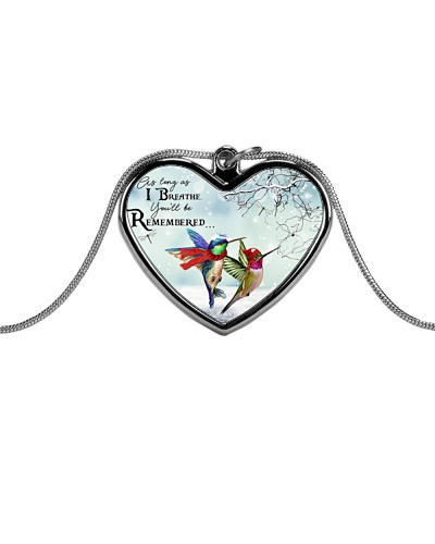 Hummingbirds remember necklace