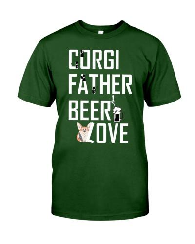 Corgi Father Beer Love